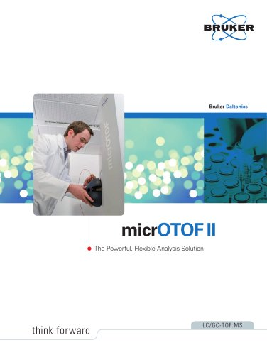 Brochure micrOTOF II