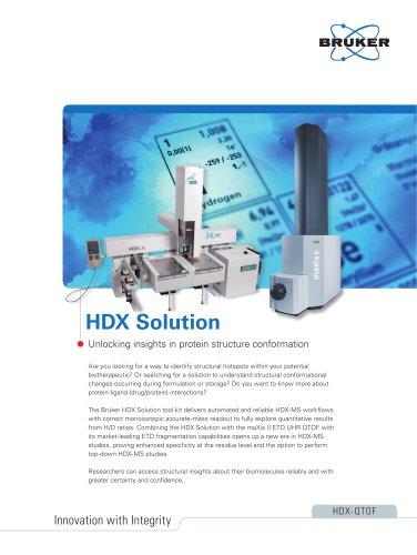 HDX Solution
