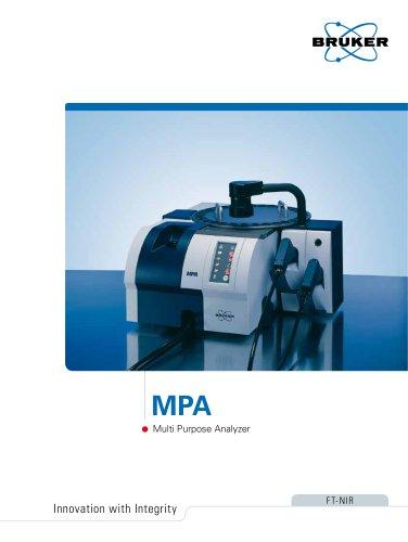MPA Multi Purpose FT-NIR Analyzer