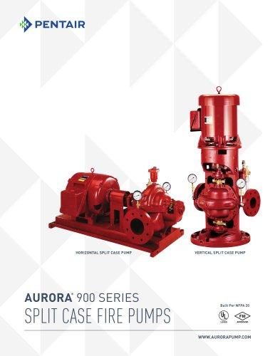 AURORA ® 900 SERIES SPLIT CASE FIRE PUMPS - Aurora Pump