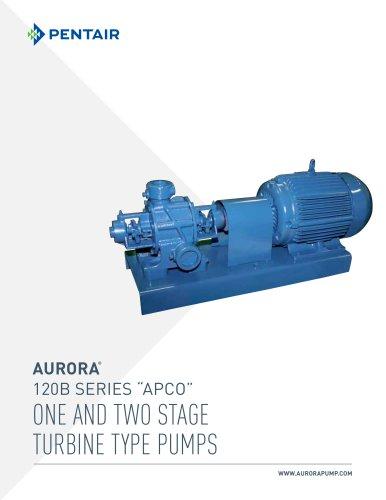 One and Two Stage Regenerative Turbine Pumps - Aurora Pump