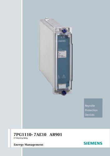 7PG1110- 7AE10 AR901 CT Shorting Relay