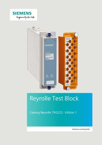 Catalog Reyrolle 7XG222 · Edition 1