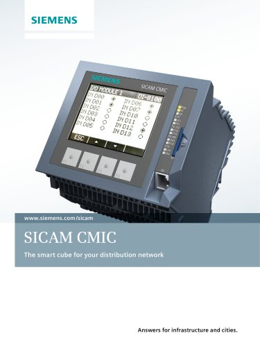 Catalog SICAM CMIC