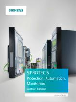 Catalog - SIPROTEC 5, Edition 2, IC1000-K4605-A011-A2-7600