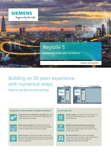 Reyrolle 5 Protecting Grids with Confidence
