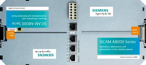 SICAM A8000 Series