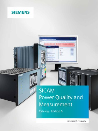 SICAM Power Quality and Measurement Catalog ⋅ Edition 6