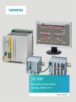SICAM Substation Automation Catalog • Edition 4.0