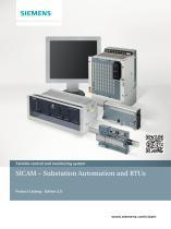 SICAM - Substation Automation and RTUs Ed 2
