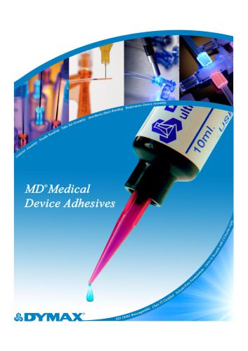 Adhesives for Medical Device Assembly