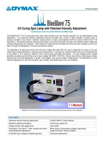 BlueWave 75 UV Curing Spot Lamp