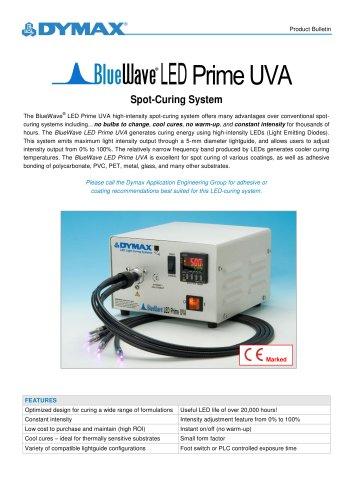 BlueWave LED Prime UVA Spot Curing System Product Bulletin