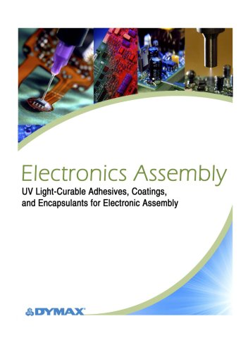 UV Adhesives for Electronic Assembly