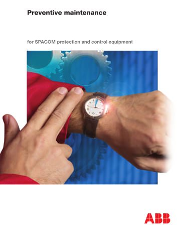 Preventive maintenance for SPACOM protection and control equipment