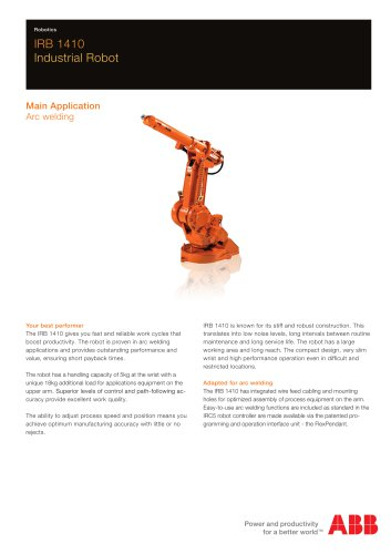 IRB 1410 Industrial Robot