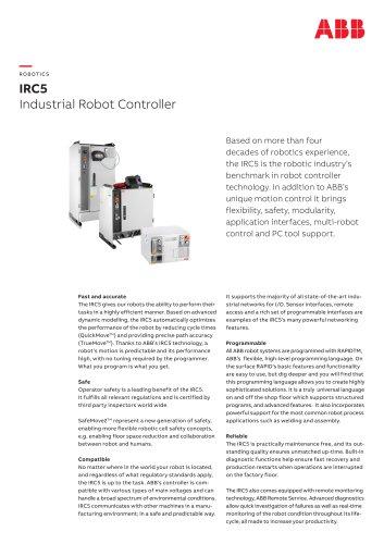 IRC5 Industrial Robot Controller