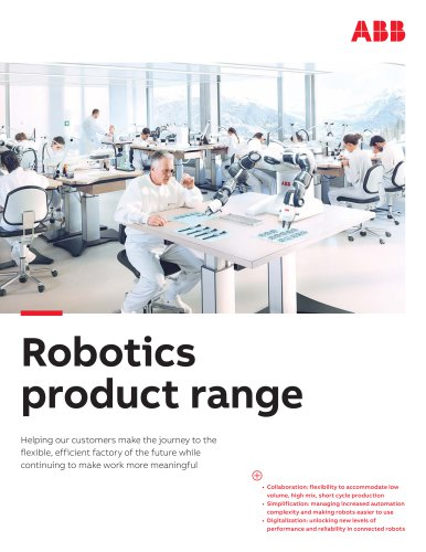 Robotics product range