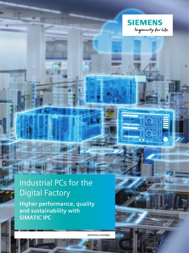 Industrial PCs for the digital factory