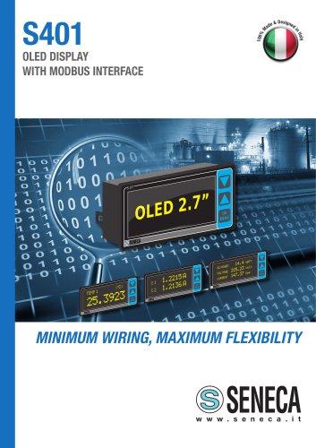 S401 OLED ModBUS Display