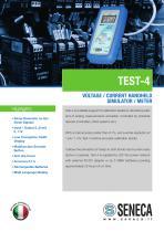 Voltage / Current simulator meter (handheld)