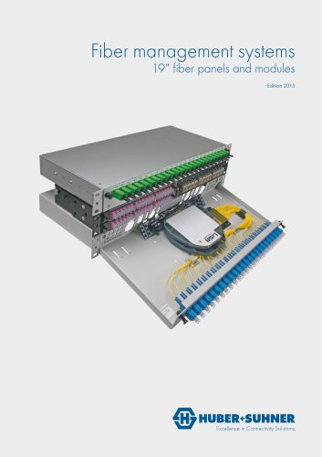"19""fiber panels and modules"