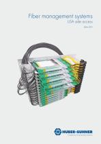 Fiber management systems LiSA side access - 1
