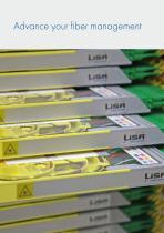 Fiber management systems LiSA side access - 2