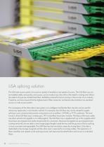 Fiber management systems LiSA side access - 8