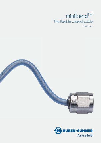 minibend - The flexible coaxial cable