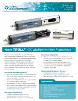 Aqua TROLL 400 Instrument for Real-Time Water Quality Monitoring
