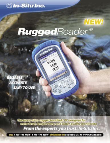 Blue RuggedReader Spec Sheet
