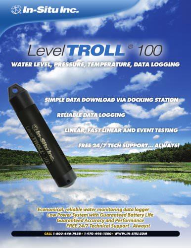 Level TROLL 100 Spec Sheet