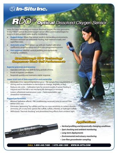 Optical DO (RDO) Spec Sheet