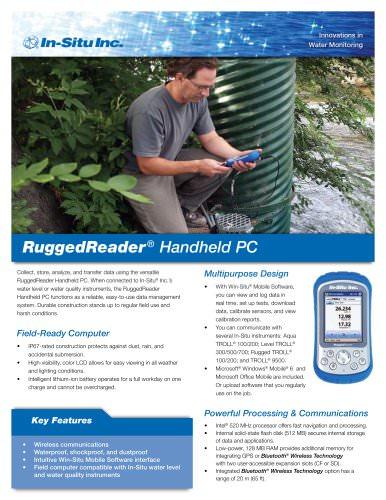 RuggedReader Handheld PC
