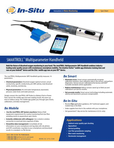 SMAR TROLL Multiparameter Handheld