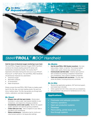 smarTROLL? RDO® Handheld
