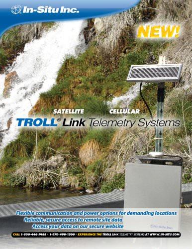 TROLL Link Telemetry Systems Spec Sheet