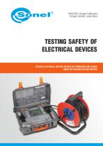 Testing Safety of Electrical Devices