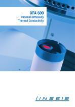 XFA 600 Xenonflash Apparatus (Thermal Conductivity / Diffusivity)