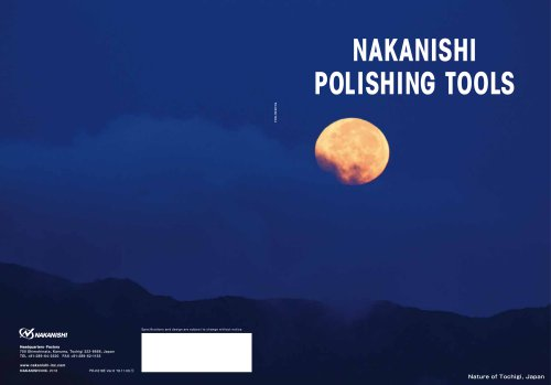 NAKANISHI POLISHING TOOLS