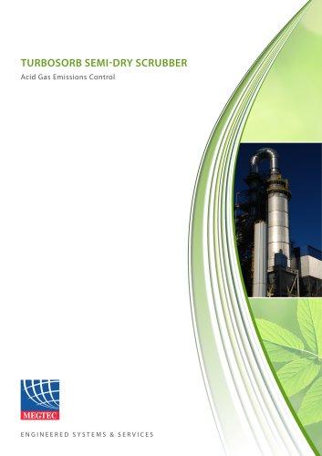 Turbosorb Semi-Dry Scrubber for Acid Gas Emissions Control