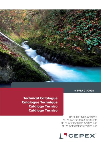 PP Valves and Fittings - Technical Catalog