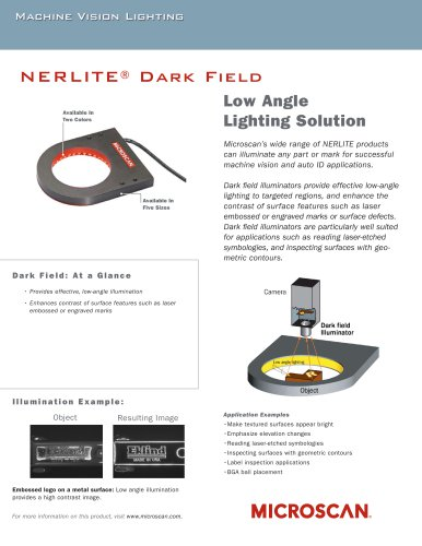Dark Field Illuminators