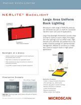 Large Area Backlights - 1