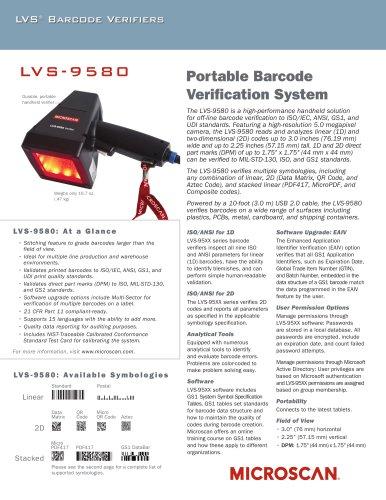 LVS -9580