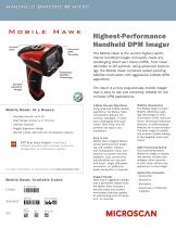 Mobile Hawk Direct Part Marking Handheld Imager - 1