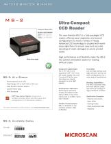 MS-2 Ultra-Compact CCD Reader - 1