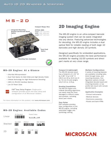 MS-2D Engine