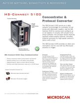 MS-CONNECT 5100 CONCENTRATOR & PROTOCOL CONVERTER - 1